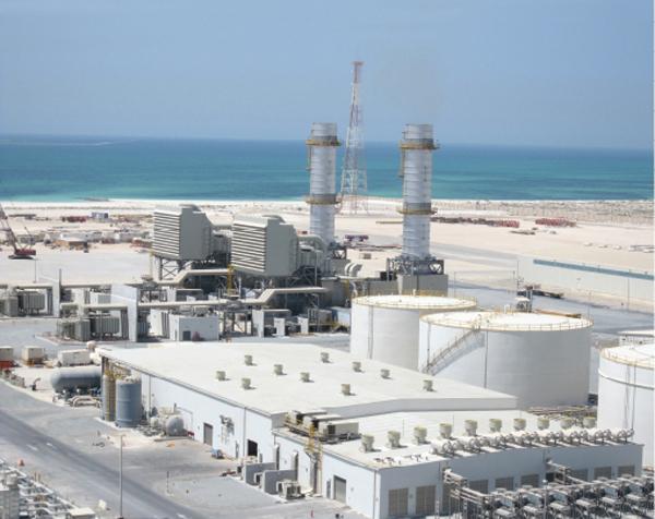 Emirates Aluminium Smelter Complex Phase-2, Hotbath Steel Tower