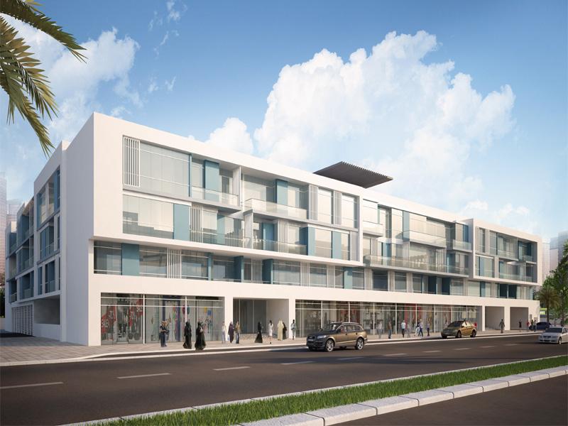 R1003-residential/commercial Building Development (b+g+m+2f+hc) On Plot No. 318-7266