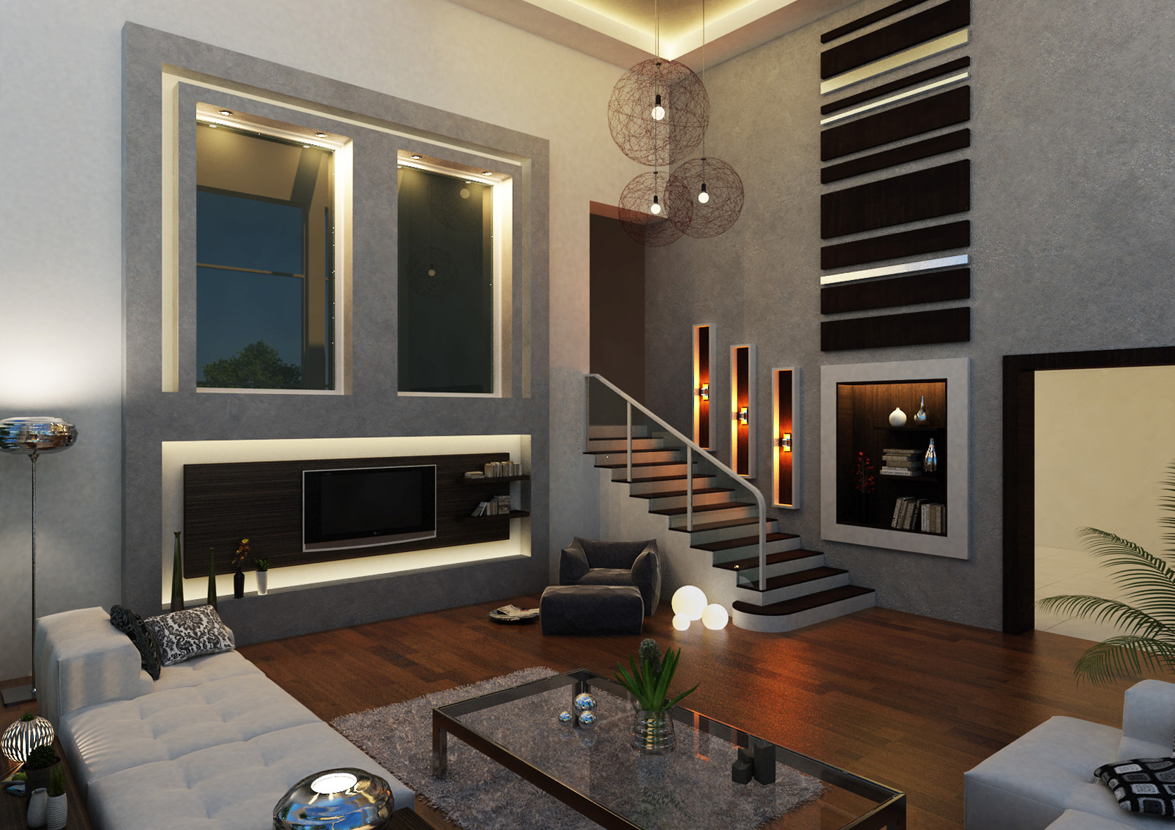 Villas - Living Room 1