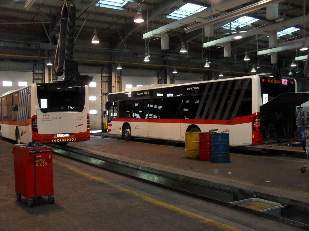 Jebel Ali Bus Depot Service Station
