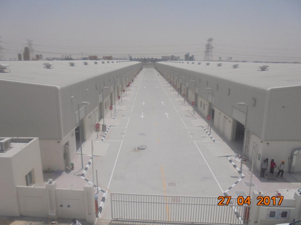 (g+ Mezzanine) 6 Warehouses Building On Plot No. 599-1097 - Jebel Ali – Dubai