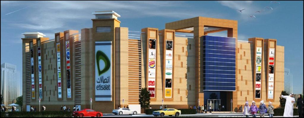 Shopping Center - Um Tarafa – Sharjah