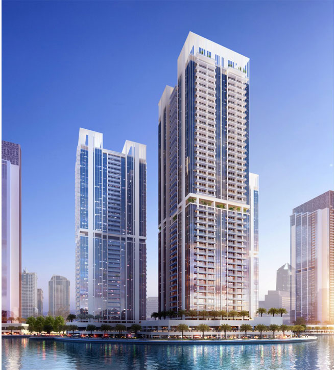Mixed Use Building At Jumeirah Lake Towers, Dubai, Uae