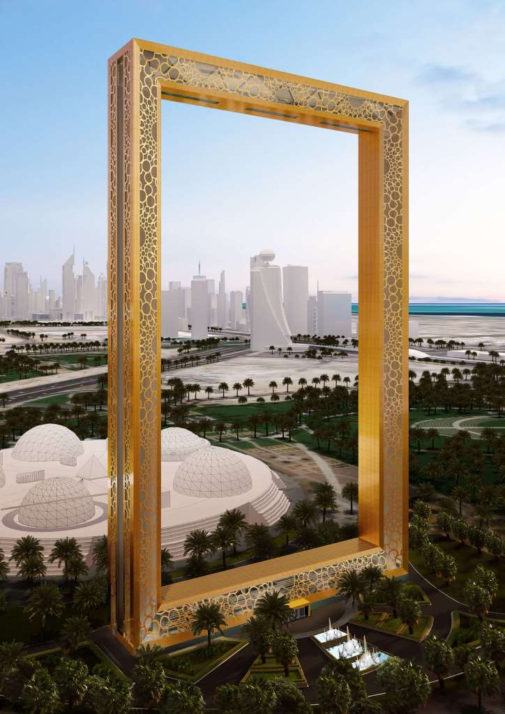 Dubai Frame - Zaabeel Park, Dubai
