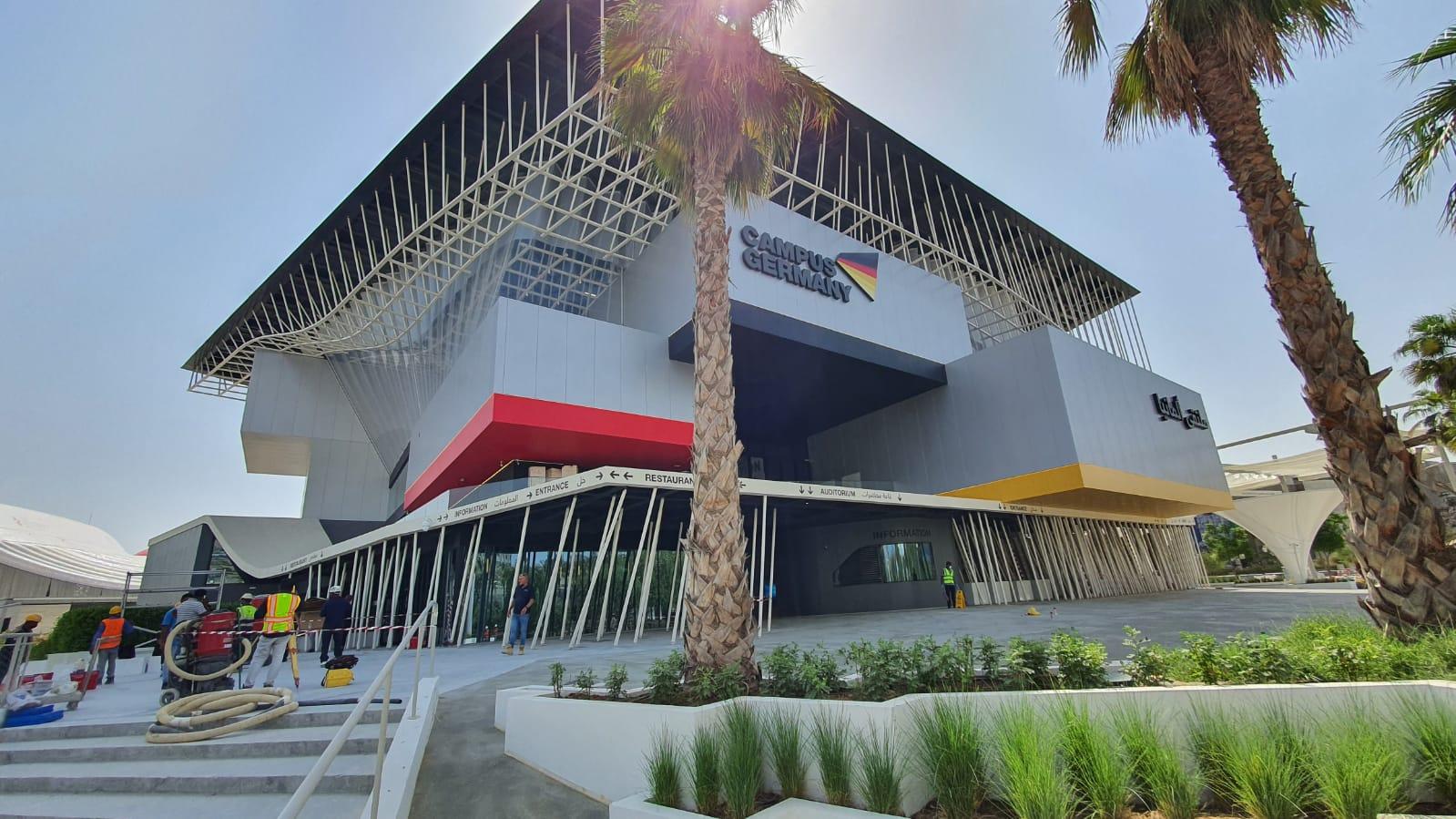 EXPO 2020 - Deutscher Pavilion - Dubai