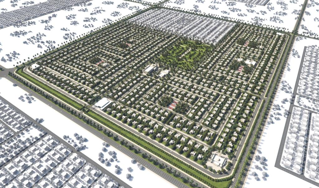 Residential Compound 206 Villas in Sharjah
